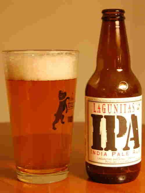 Lagunitas IPA is an India Pale Ale from Petaluma, California.