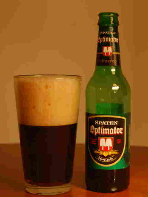 Spaten Optimator is a doppelbock beer from Munich, Germany.