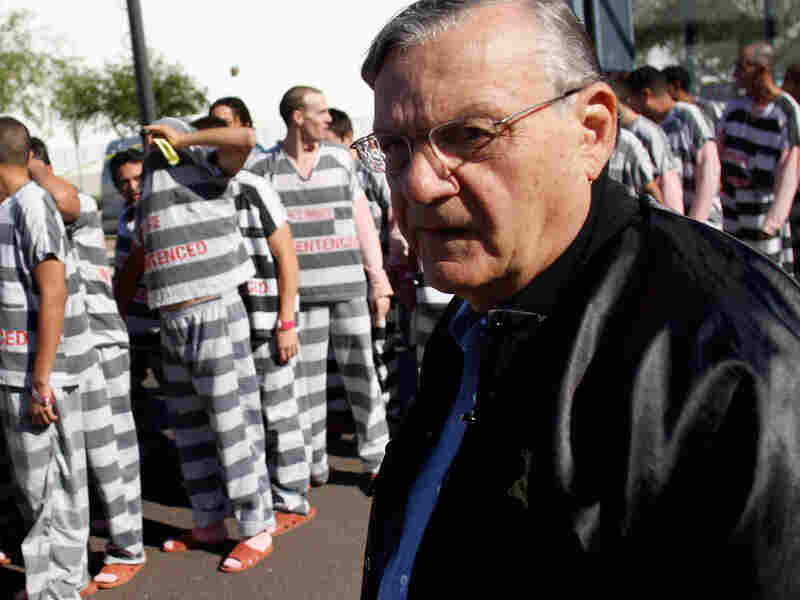 Maricopa County Sheriff Joe Arpaio has forced inmates to wear pink and live in tent cities, gaining him a reputation as America's toughest sheriff.