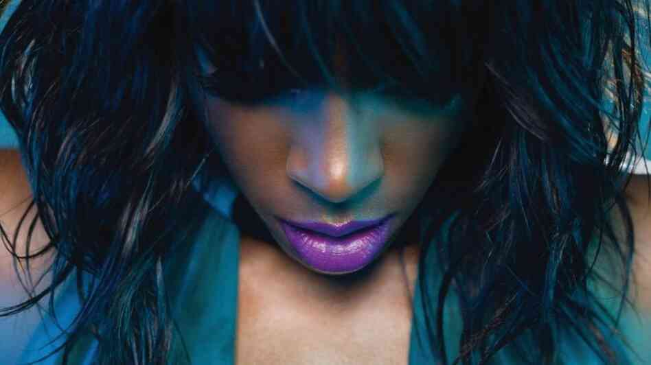 "Kelly Rowland, on the cover for her single ""Motivation."""