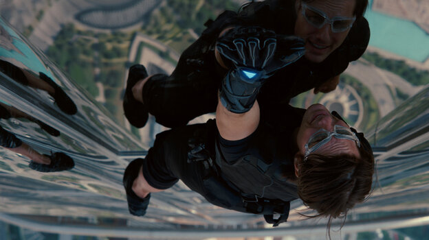Ethan Hunt (Tom Cruise) and his Impossible Mission Force go