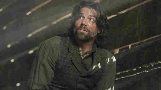 Cullen Bohannon (Anson Mount) owns slaves on AMC's Hell On Wheels. But the guys he's chasing are worse.
