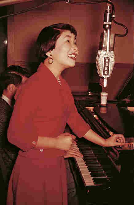 Miyoshi Umeki, April 1956