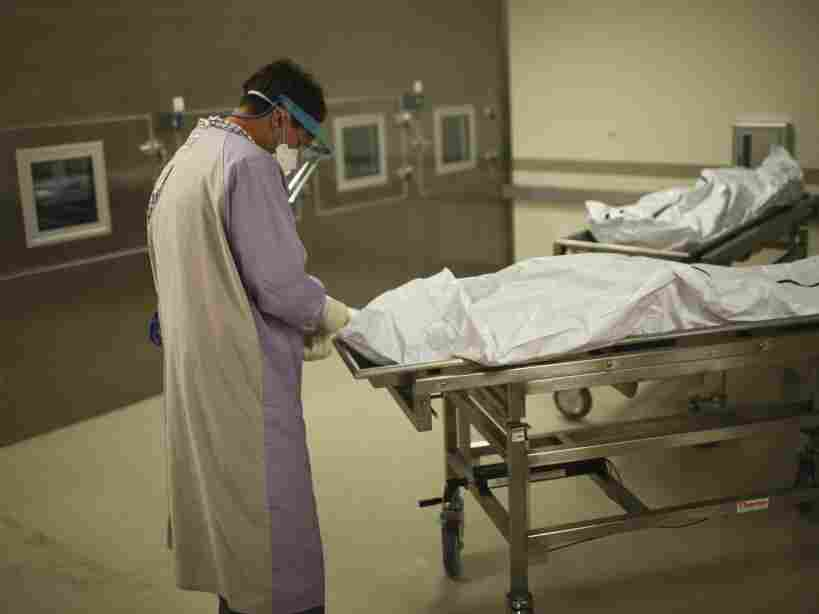 Unlike the medical examiner's office in New Mexico, which routinely autopsies sudden or violent deaths, most U.S. hospitals perform postmortem examinations only rarely.