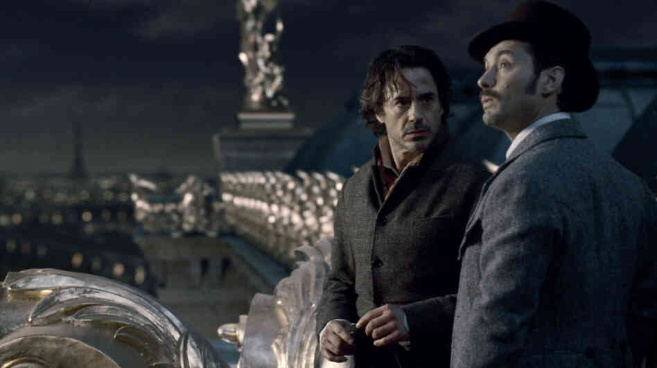 Dark 'Shadows': Sherlock Holmes (Robert Downey Jr.) and Dr. Watson find themselves menaced by Moriarty — and Watson's marriage — in the second installment of Guy Ritchie's action-mystery franchise.