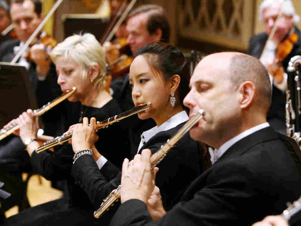 In these times of instability in the recording industry, more and more Symphony Orchestras (like the Cincinnati Symphony, photographed here) are making their own albums.