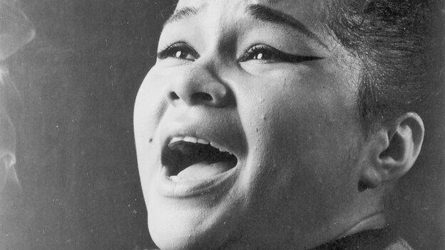 Etta James circa 1960 in Chicago.