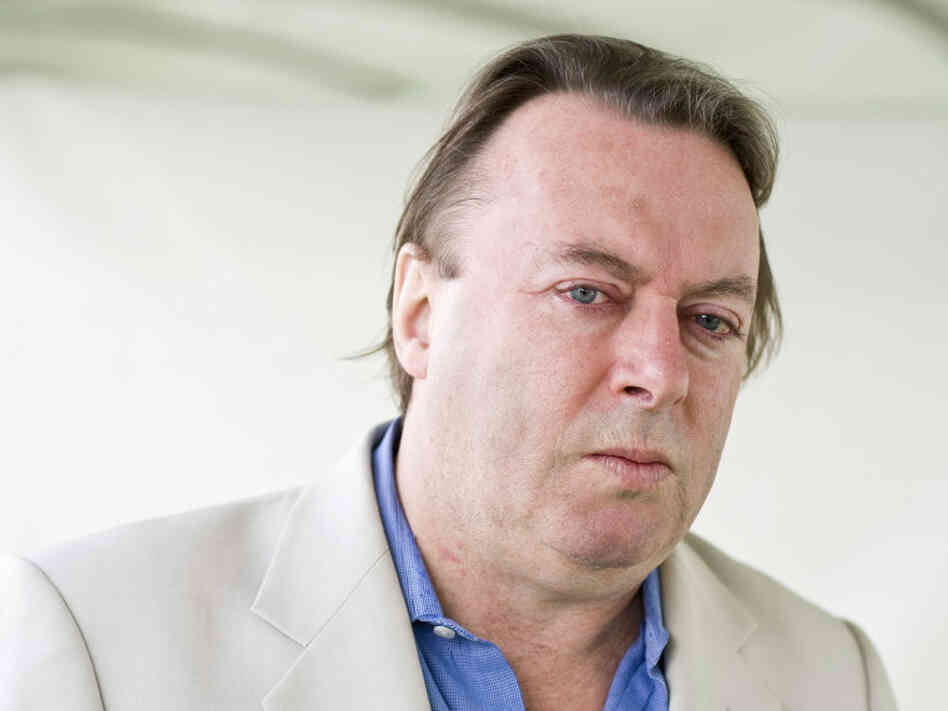 Christopher Hitchens, shown here in 2010, began a lifelong battle with a God he didn't believe in when he was just 9 years old.