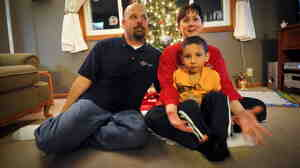 """In Omaha: The Bremser family had its $70 layaway balance paid for by a stranger. """"I was speechless,"""" Dona Bremser says. """"It made me believe in Christmas again."""""""