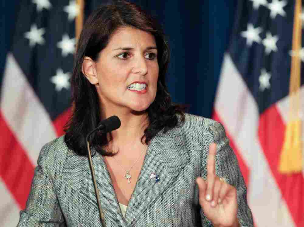 South Carolina Governor Nikki Haley, Charleston, S.C., Aug. 13, 2011.