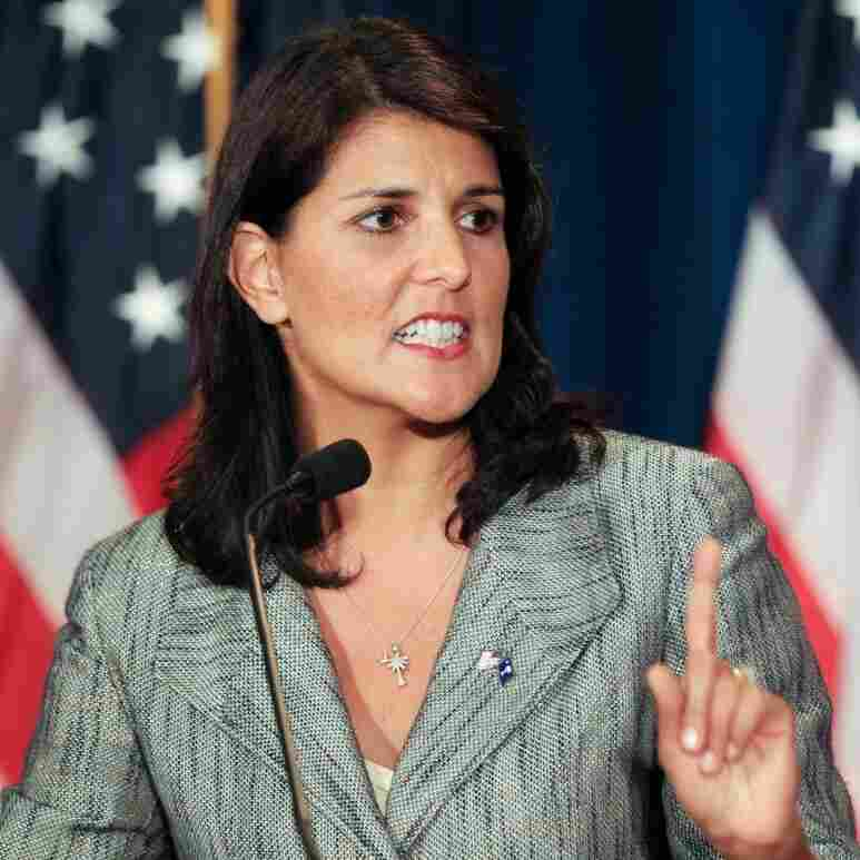 S.C. Gov. Haley's Power To Help Romney Shrinks With Her Approval Ratings