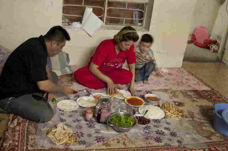 Every day she prepares three meals for her husband, Omed Rashid, who owns a teahouse and has a second wife that he visits infrequently.