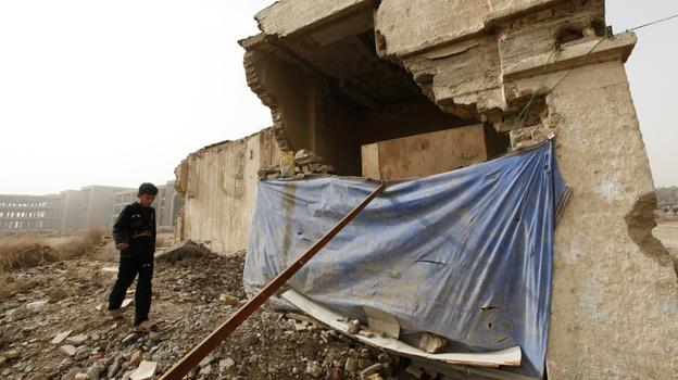 Iraqi squatters