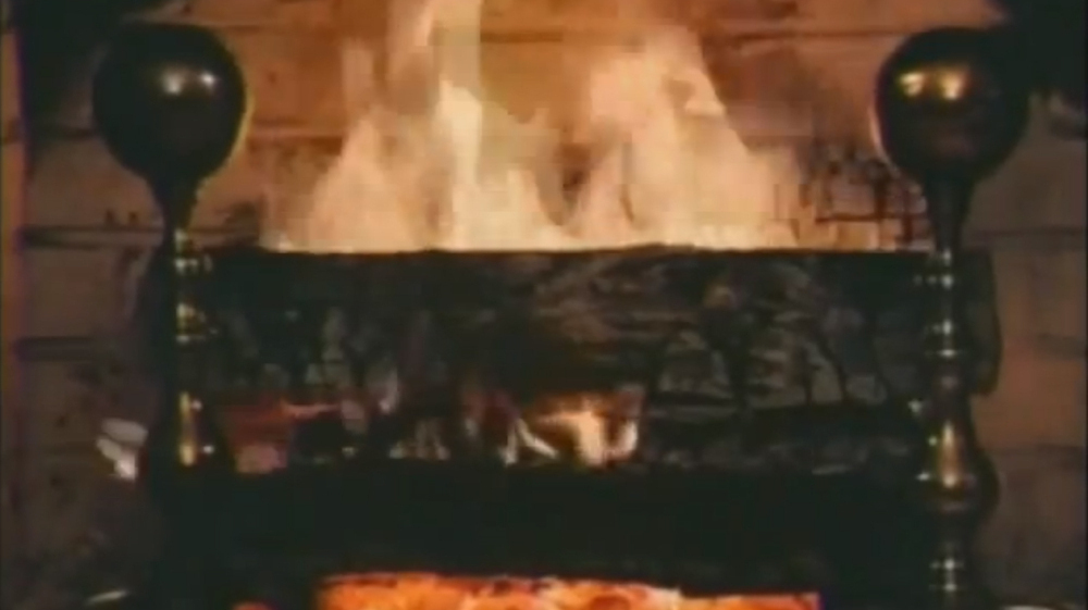 The Good Old Yule Log Spreads To HDTV : NPR