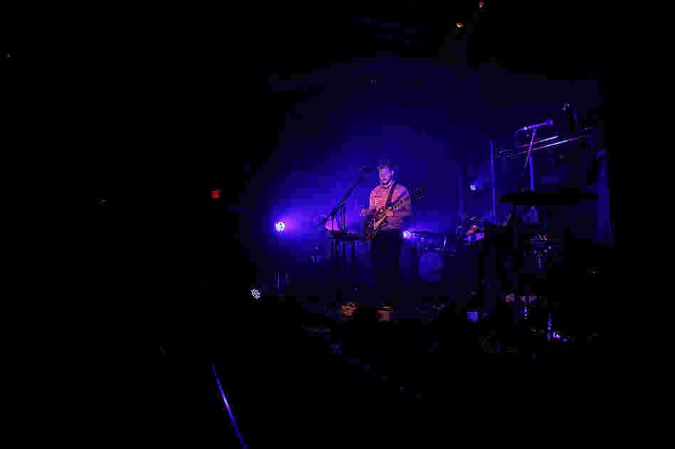 Bon Iver performs at Washington, D.C.'s 9:30 Club on Aug. 2.