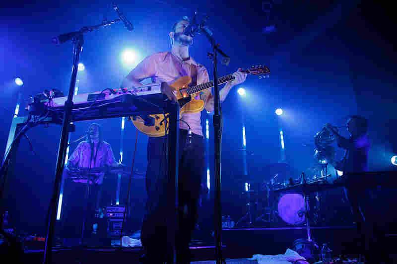 Bon Iver performs at Washington, D.C.'s 9:30 Club on Aug. 2.