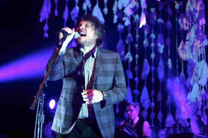 Wilco live at Merriweather Post Pavilion.