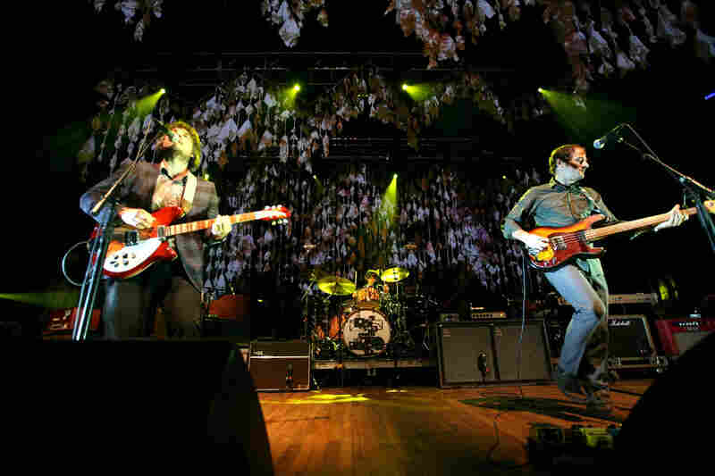 Wilco live at Merriweather Post Pavilion.