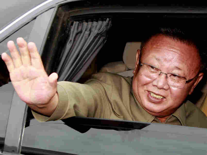 North Korean leader Kim Jong Il during a visit to Siberia in August.