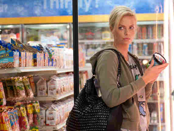 Mine. All Mine: Teen-fiction writer Mavis (Charlize Theron) plots to save her high school beau from what she believes is a too-mundane married life in Young Adult.