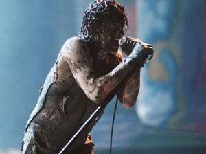 Trent Reznor performs with Nine Inch Nails at Woodstock '94.