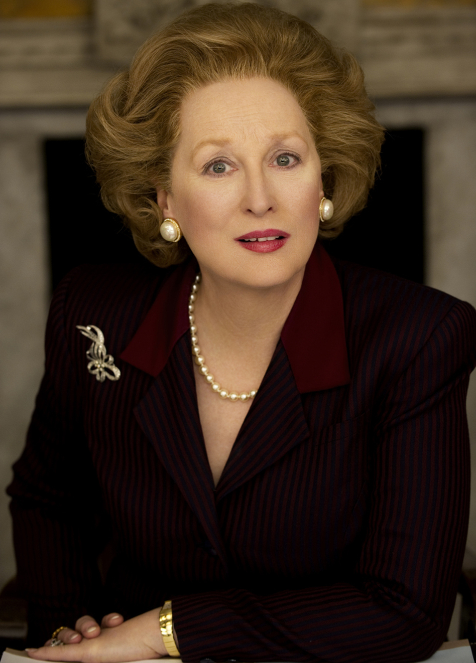 From Meryl To Margaret Becoming The Iron Lady Wbur News