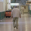 """In California, prison inmates who have committed serious crimes and have been diagnosed with a major mental illness can be forced to serve their parole in a state hospital. At Atascadero State Hospital, shown above in this 1999 photo, there are more than 600 such patients. """"As a group,"""" says the hospital's director, """"the mentally disordered offenders are the most aggressive."""""""