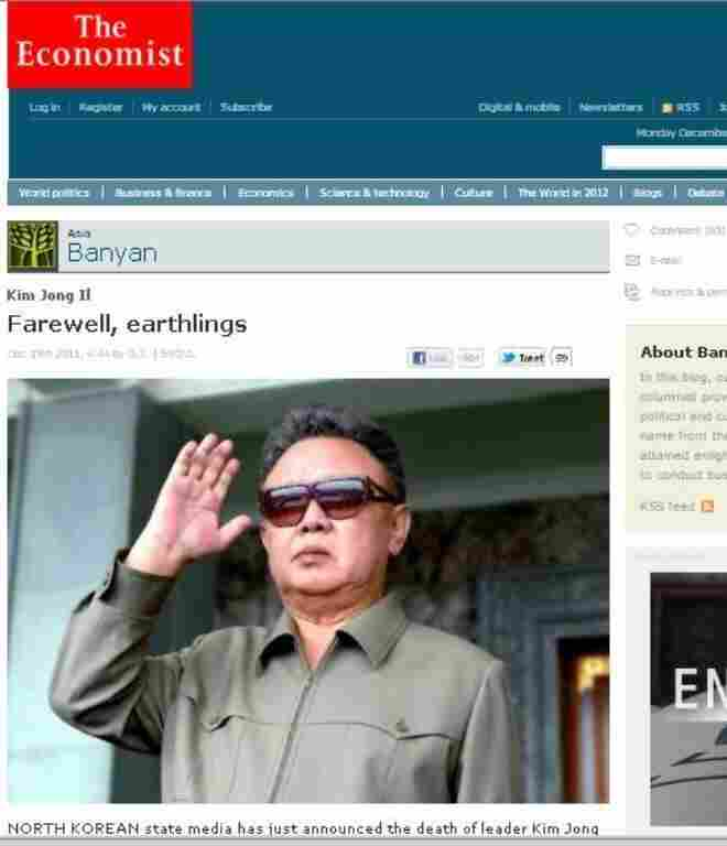 The Economist's Banyan blog.