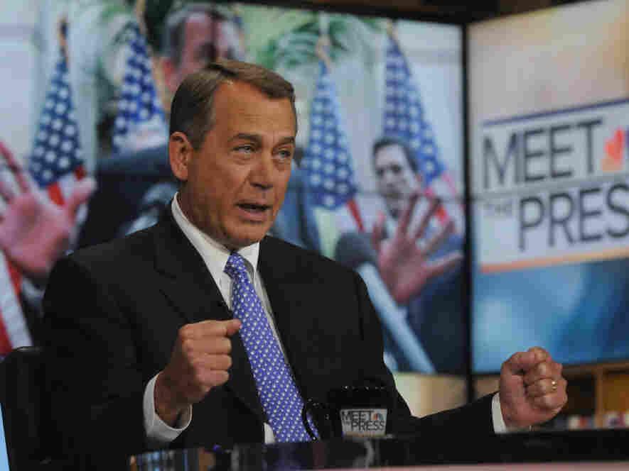 """House Speaker John Boehner on NBC's """"Meet the Press,"""" Dec. 18, 2011."""