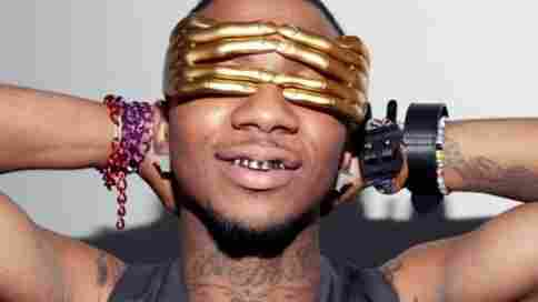 """The rapper Lil B, who spread the word """"swag"""" throughout hip-hop."""