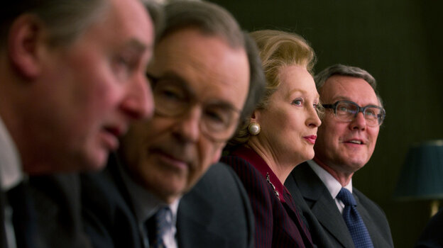 Fierce Focus: Meryl Streep's Margaret Thatcher (second from right) is just one of many cinematic women who tore into 2011 entirely on their own terms.