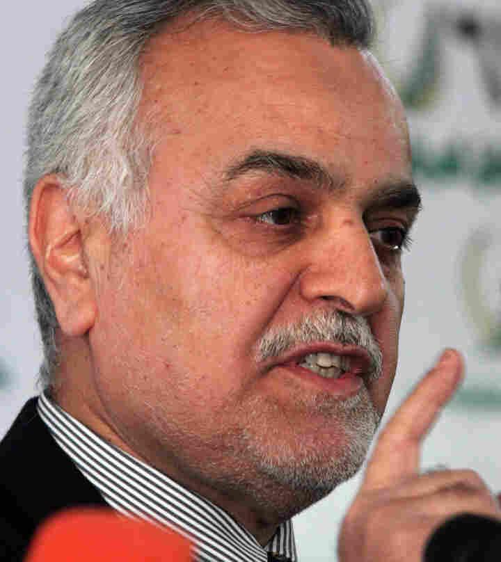 Iraq's vice President Tariq al-Hashemi in a 2006 file photo.