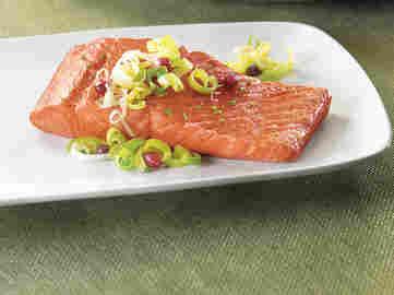 Wild salmon filets from SeaBear.