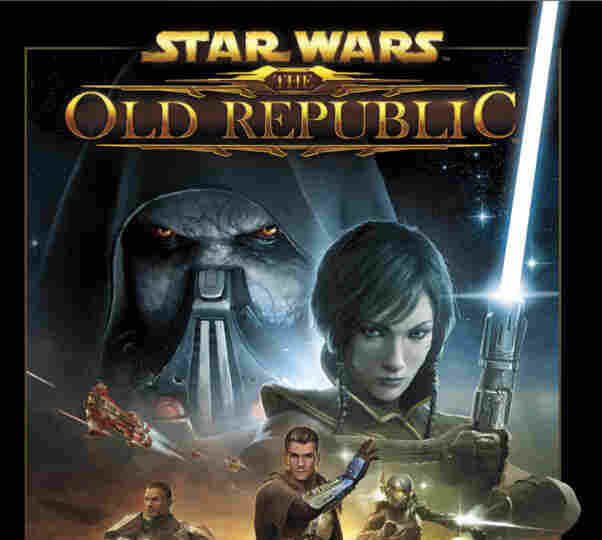 """Part of the packaging of """"Star Wars: The Old Republic."""""""
