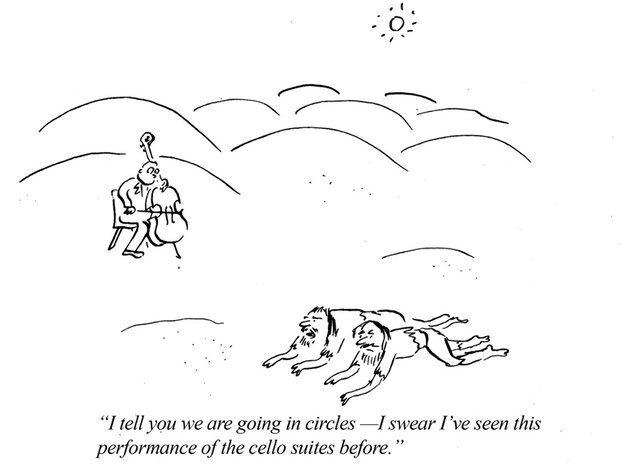 I tell you we are going in circles...