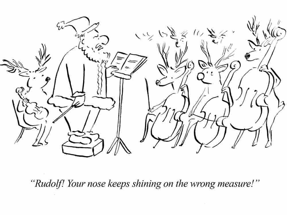 Santa's Reindeer Philharmonic.