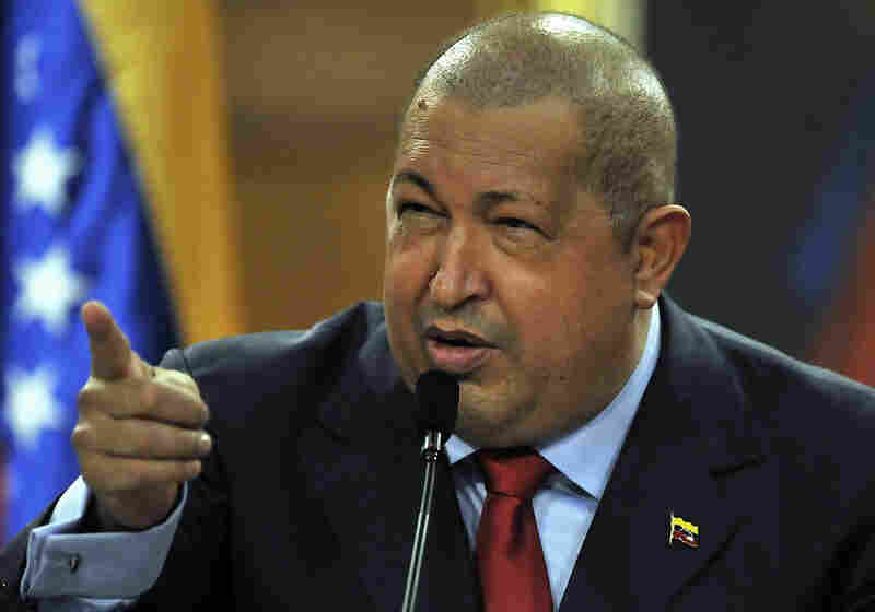 Venezuelan President Hugo Chavez, who has ruled since 1999, speaks during a news conference at the presidential palace in Caracas on Dec. 6.