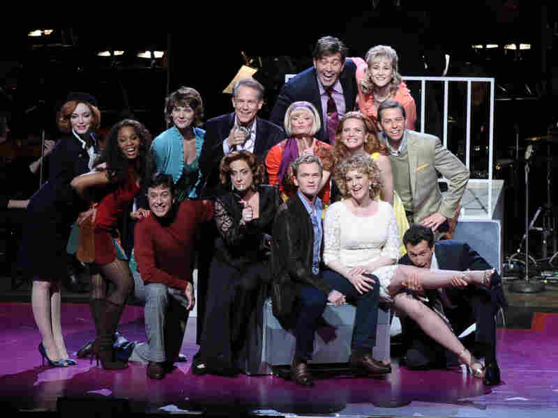 The cast of Company includes Christina Hendricks, Martha Plimpton, Patti LuPone, Neil Patrick Harris, Jon Cryer, Craig Bierko and Stephen Colbert.