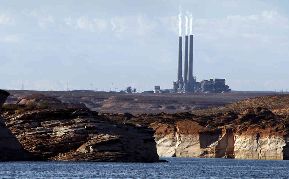 The owners of the Navajo Generating Station in Page, Ariz say new EPA regulations put the coal-fir