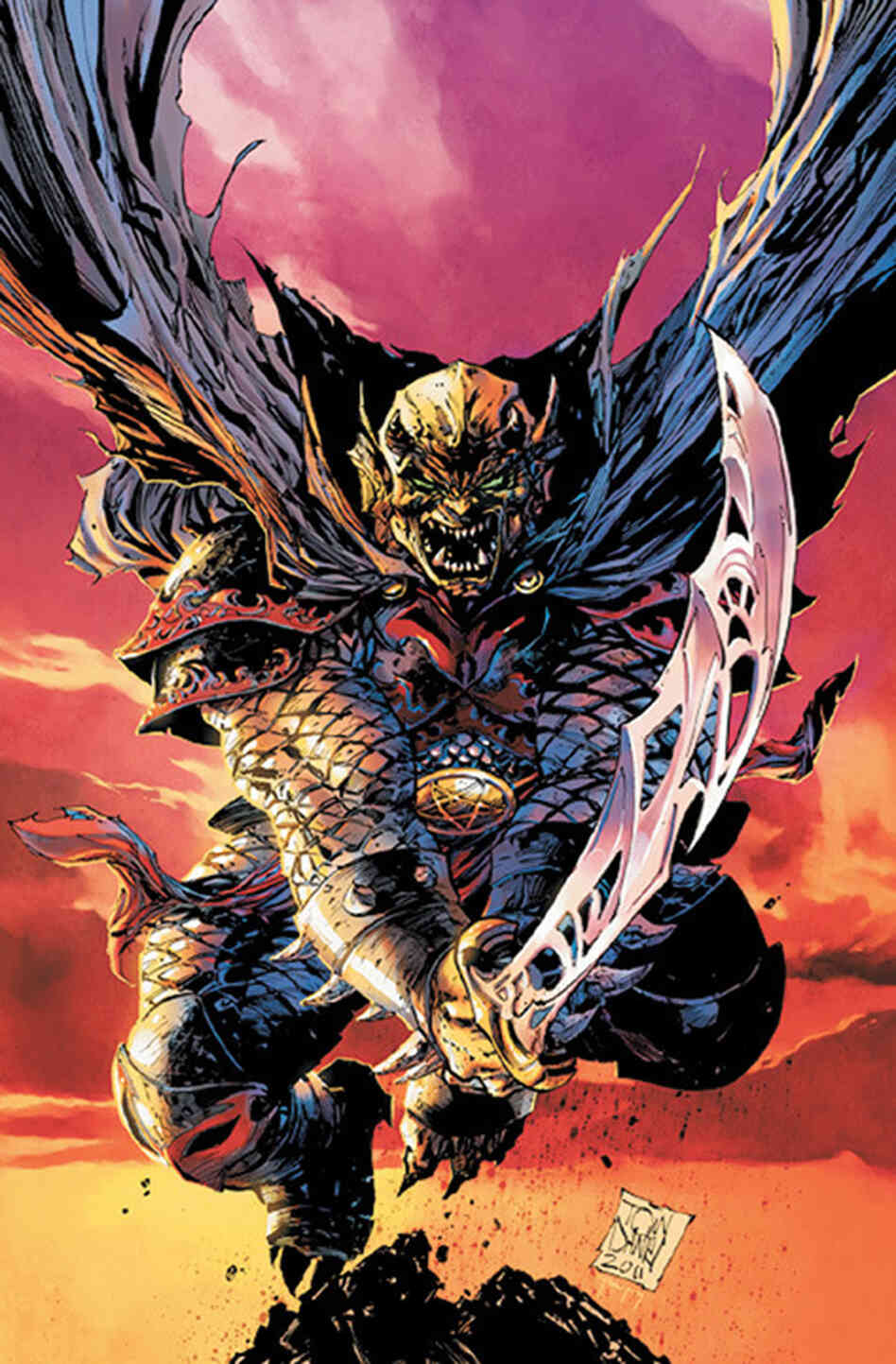 Cover of Demon Knights #1