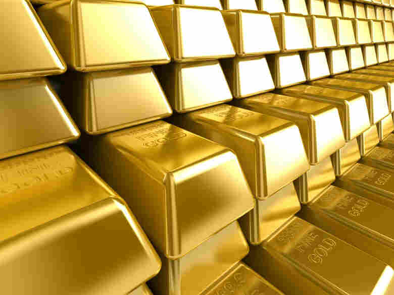 People who bought an ounce of gold in January have seen a 10 percent gain on the investment.