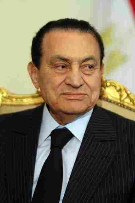 Egyptian President Hosni Mubarak resigned Feb. 11, ending his 30-year rule. Here, he's shown two days earlier in Cairo.