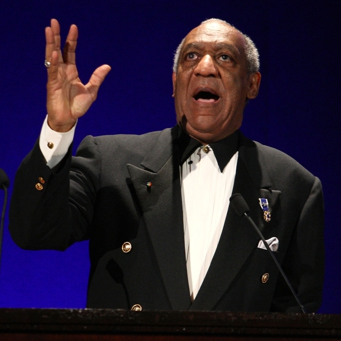Bill Cosby, onstage in New York City, in March 2009.