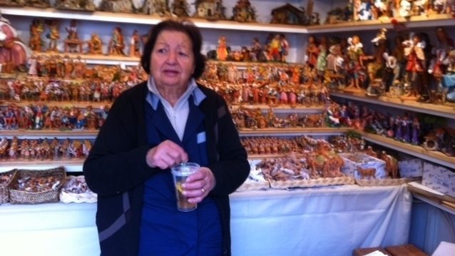 Italians Are Mostly Window Shopping This Christmas : NPR