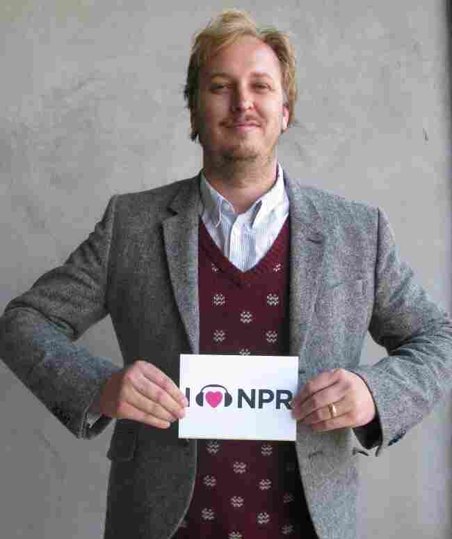 James Bobin at NPR West.