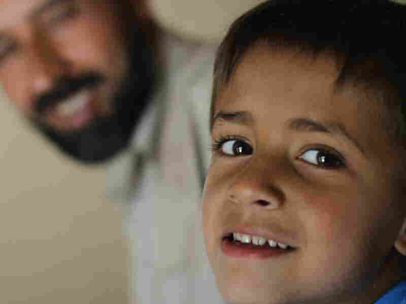 Omar is Abdul Wahkeel's oldest son. He's learning his father's craft to one day carry on the family business.