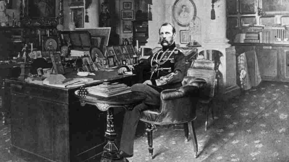 One of the great unknown Russian composers?: Tsar Alexander II of Russia, in a portrait from c. 1875.