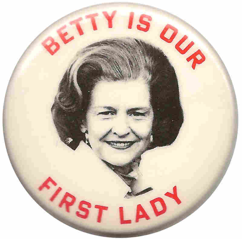 A beloved, frank and outspoken former First Lady.