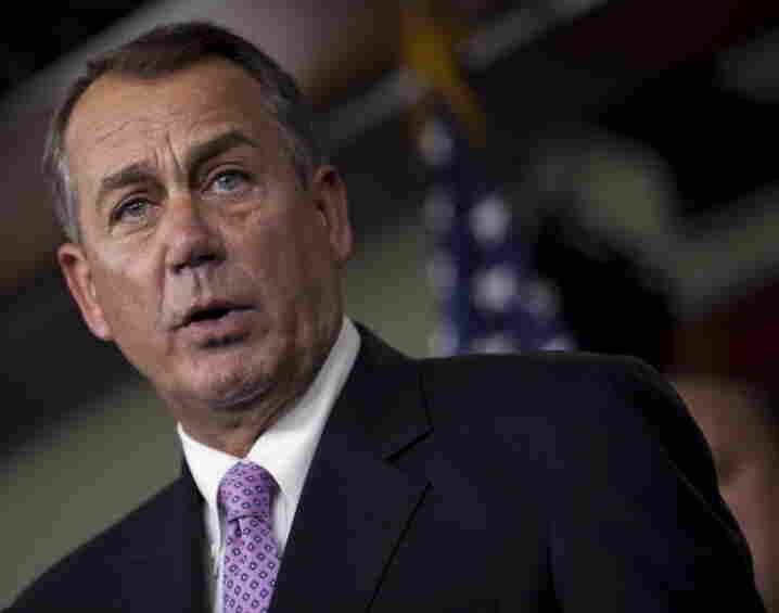House Speaker John Boehner (R-Ohio) on Capitol Hill Thursday (Dec. 22, 2011).