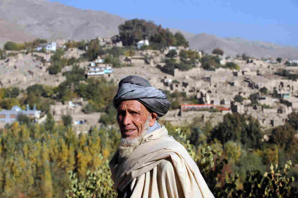 A man in Istalif last year.